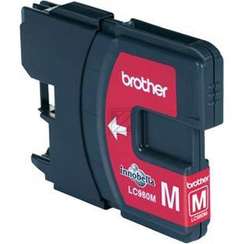 Brother Tintenpatrone magenta (LC-980M)