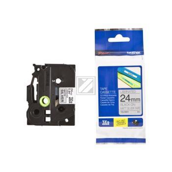 Brother Schriftbandkassette schwarz/silber matt (TZE-M951)