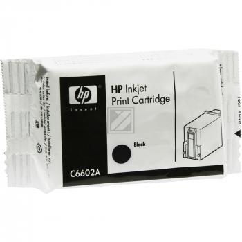 Hewlett Packard Tintendruckkopf schwarz (C6602A)