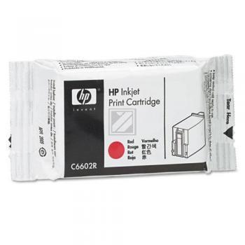 Hewlett Packard Tintendruckkopf rot (C6602R)