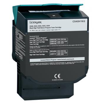 Lexmark Toner-Kartusche schwarz High-Capacity (C540H1KG)