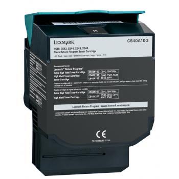Lexmark Toner-Kartusche schwarz (C540A1KG)