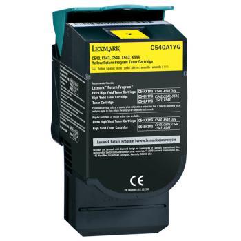 Lexmark Toner-Kartusche gelb (C540A1YG)