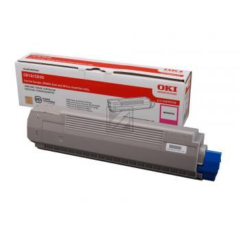 OKI Toner-Kit magenta (44059106)