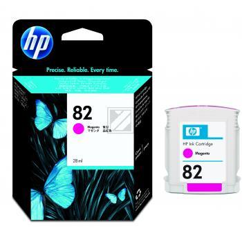 Hewlett Packard Tintenpatrone magenta (CH567A, 82)