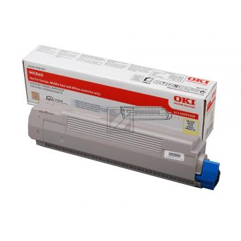 OKI Toner-Kit gelb (44059209)