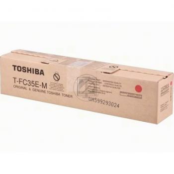 Original Toshiba 6AG00002320 / T-FC 55 EM Toner Magenta