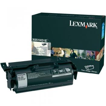 Lexmark Toner-Kartusche Corporate schwarz High-Capacity (X651H31E)
