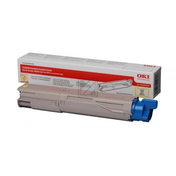 OKI Toner-Kit gelb High-Capacity (43459433)