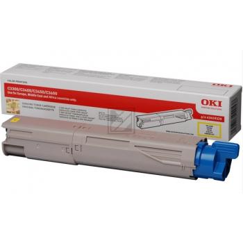 OKI Toner-Kit gelb High-Capacity plus + (43459329)