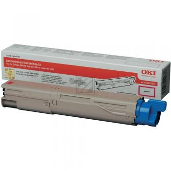 OKI Toner-Kit magenta High-Capacity (43459434)