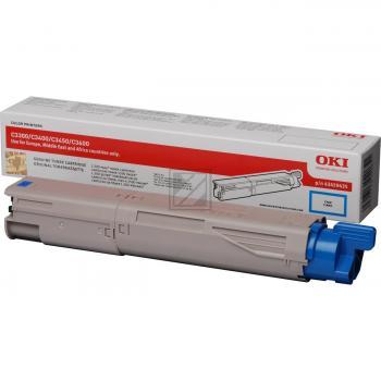 OKI Toner-Kit cyan High-Capacity (43459435)