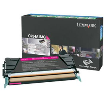 Lexmark Toner-Kartusche magenta (C734A1MG)