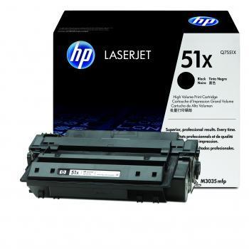 Hewlett Packard Toner-Kartusche 2x schwarz High-Capacity (Q7551XD, 51XD)