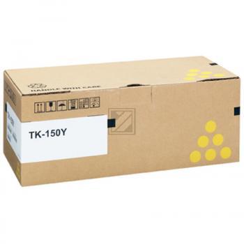 Original Kyocera 1T05JKANL0 / TK-150Y Toner Gelb