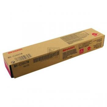 Sharp Toner-Kit magenta (MX-C38GTM)