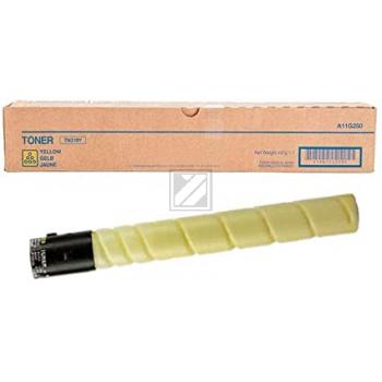 Konica Minolta Toner-Kit gelb (A11G230 A11G250, TN-319Y)