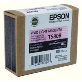 Epson Tintenpatrone magenta light (C13T580B00, T580B)
