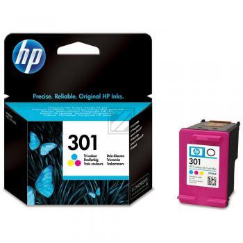 Hewlett Packard Tintenpatrone cyan/gelb/magenta (CH562EE, 301)