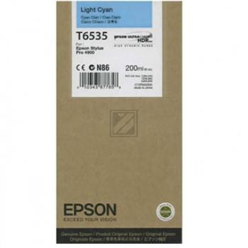 Epson Tintenpatrone Ultra Chrome Hdr cyan light (C13T653500, T6535)