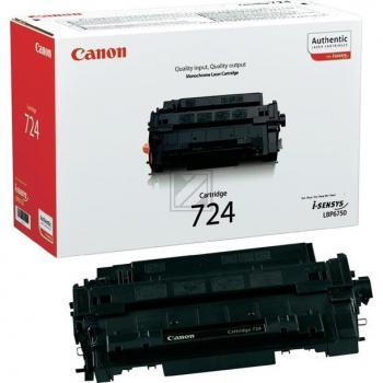 Original Canon 3481B002 / EP724 Toner Schwarz