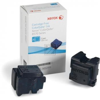 Xerox ColorStix Kartonage cyan 2-er Pack (108R00931 108R00936)