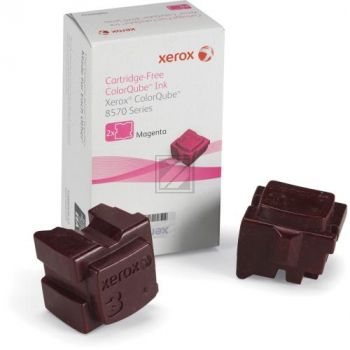 Xerox ColorStix Kartonage magenta 2-er Pack (108R00932 108R00937)