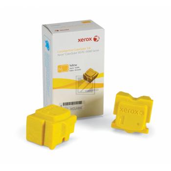 Xerox ColorStix Kartonage gelb 2-er Pack (108R00933 108R00938)