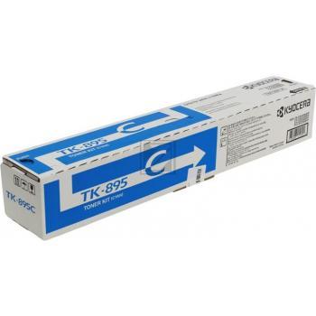 Original Kyocera 1T0T2K0CNL / TK-895C Toner Cyan