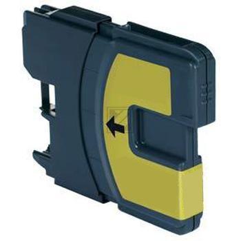 Kompatibel zu Brother LC980Y Tinte Gelb