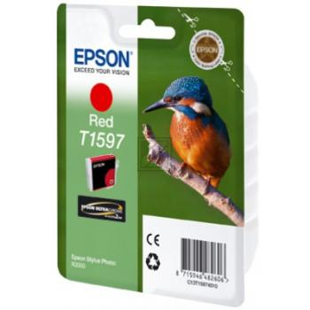 Epson T1597 | 17ml, Epson Tintenpatrone, rot