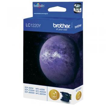 Brother Tintenpatrone gelb (LC-1220Y)