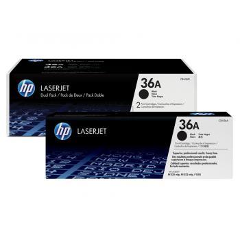 Hewlett Packard Toner-Kartusche 2x schwarz 2-er Pack (CB436AD, 36AD)