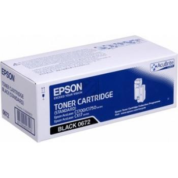 Original Epson C13S050672 / S050672 Toner Schwarz