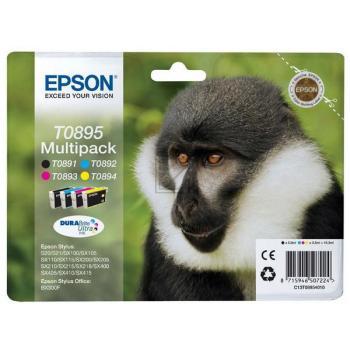 Epson Tintenpatrone gelb cyan magenta schwarz (C13T08954010, T0895)