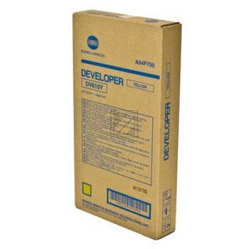 Original Konica Minolta A04P700 / DV610Y Entwicklereinheit Schwarz, Gelb