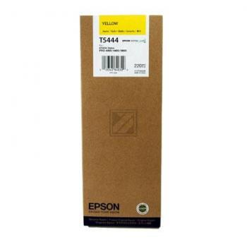 Epson Tintenpatrone gelb High-Capacity (C13T544400, T5444)