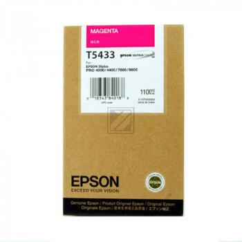 EPSON STYLUS PRO 7600 TINTE MAGENTA 110ml, Kapazität: 110ml