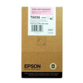 Epson Tintenpatrone magenta light High-Capacity (C13T603600, T6036)