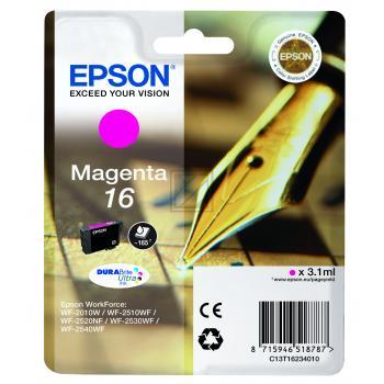 Epson Tintenpatrone magenta (C13T16234010, T1623)
