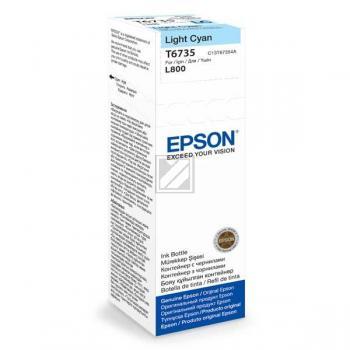 Original Epson C13T67354A / T6735 Tinte Cyan (Hell)