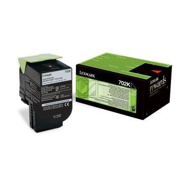 Lexmark Toner-Kit Return schwarz (70C20K0)