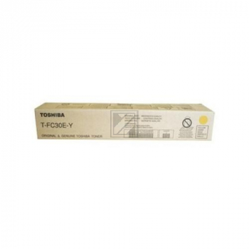 TOSHIBA Toner yellow TFC30Y E-Studio 2050/2550C 28'000 S.