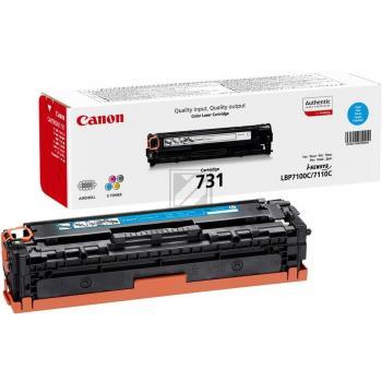 Canon Toner-Kit cyan (6271B002, 731C)