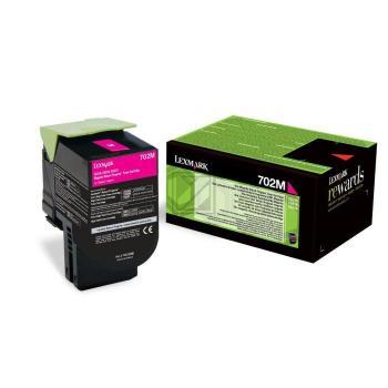 Lexmark Toner-Kit Return magenta (70C20M0, 702M)