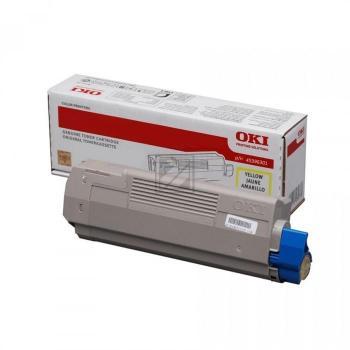 Original OKI 45396301 / MC760 Toner Gelb