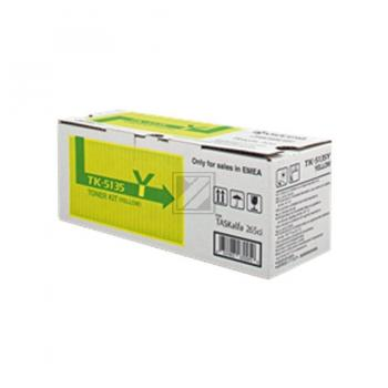 KYOCERA TK5135Y | 5000 Seiten, KYOCERA Tonerkassette, gelb