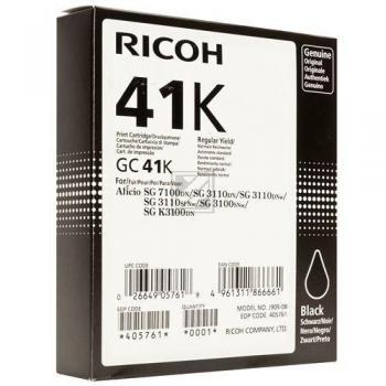 Ricoh Gel-Kartuschen schwarz High-Capacity (405761, GC-41K)