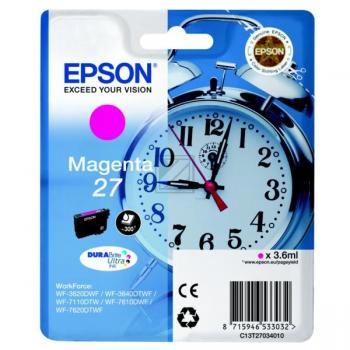 Epson Tintenpatrone magenta (C13T27034010, T2703)