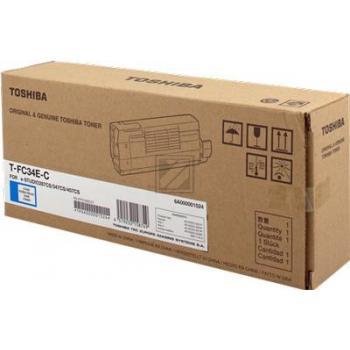 TOSHIBA Toner cyan TFC34EC E-Studio 287/407CS 11'500 S.